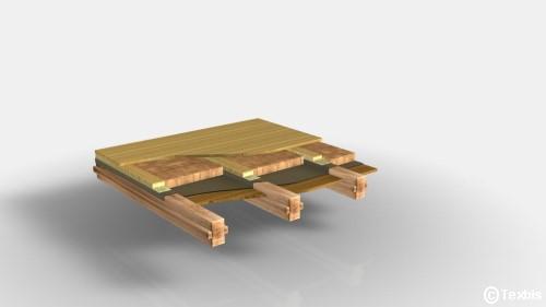 Holzrahmenbau deckenaufbau  Lehmbausysteme - Lehmbau mit Produkten von TEX-BIS Naturbaustoffe