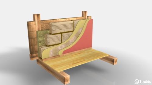 fachwerk au enwand mit leichtlehmsteinen leichtlehm zwischenf llung und innerer vorsatzschale. Black Bedroom Furniture Sets. Home Design Ideas