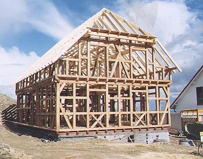 Neubau fachwerkhaus heller for Fachwerkhaus konstruktion